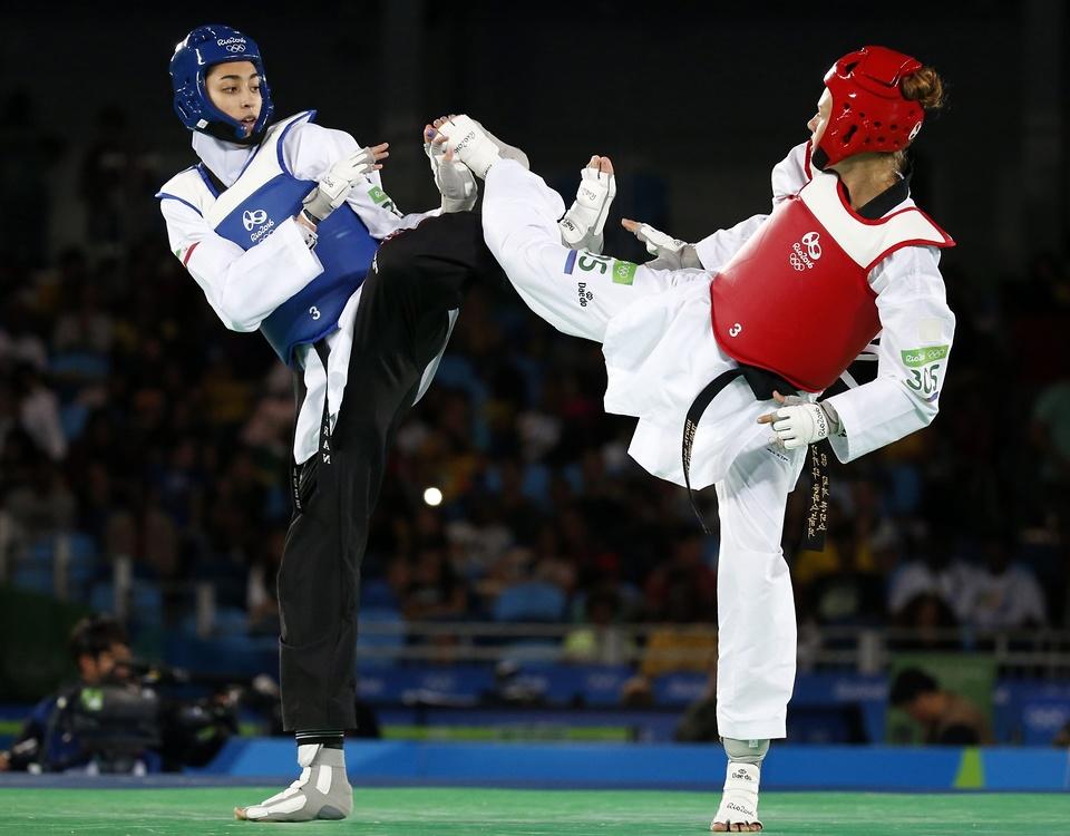 Rio 2016: historyczny sukces Iranki. Wojowniczka w hidżabie zdobyła medal