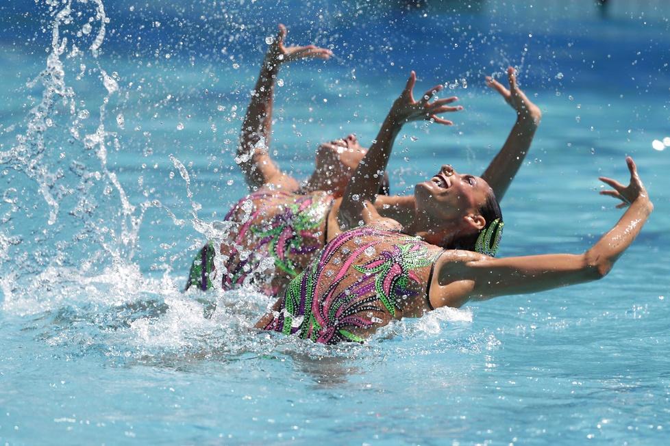Rio 2016: hipnotyzujący występ w wodzie. Zobacz niesamowite zdjęcia