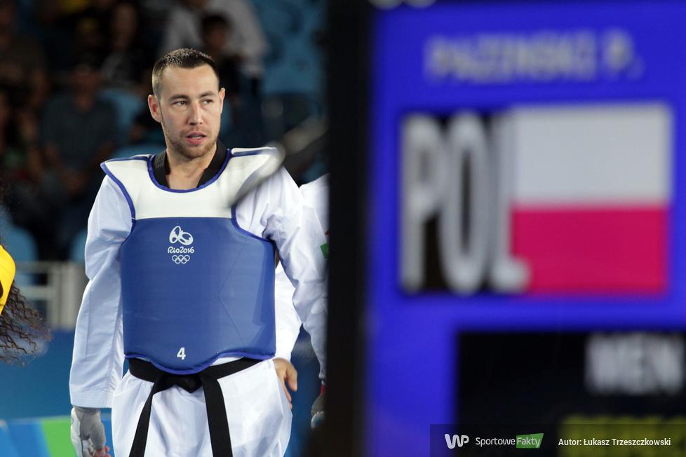 Rio 2016: Piotr Paziński w repasażach i walce o brązowy medal taekwondo do 80kg (galeria)