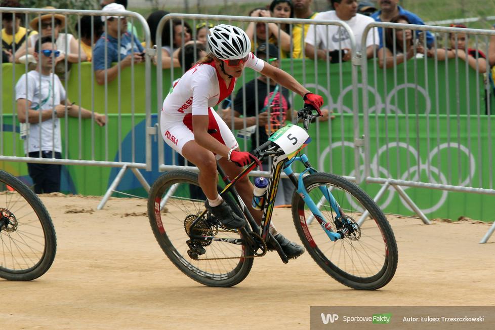 Rio 2016: Maja Włoszczowska ze srebrnym medalem olimpijskim (galeria)
