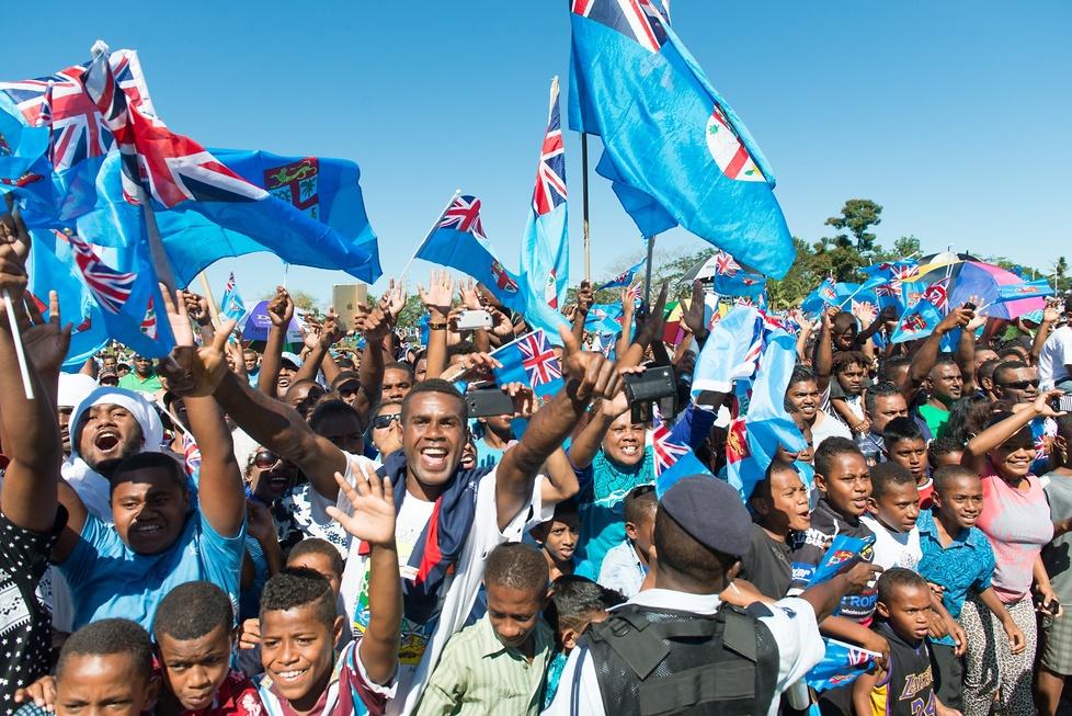 Euforia na Fidżi! Tysiące ludzi witało złotych rugbistów z igrzysk w Rio