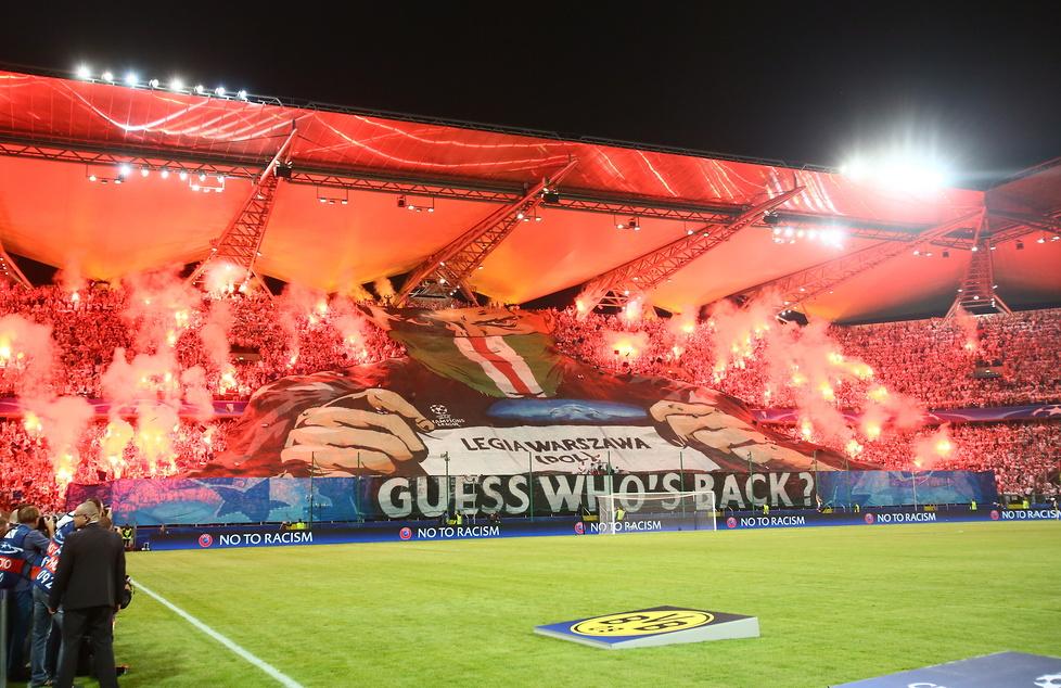 Legia Warszawa - Borussia Dortmund 0:6 (galeria)