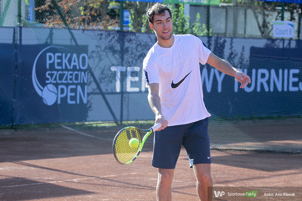 Pekao Szczecin Open: Jerzy Janowicz - Stefano Napolitano 1:2 (galeria)