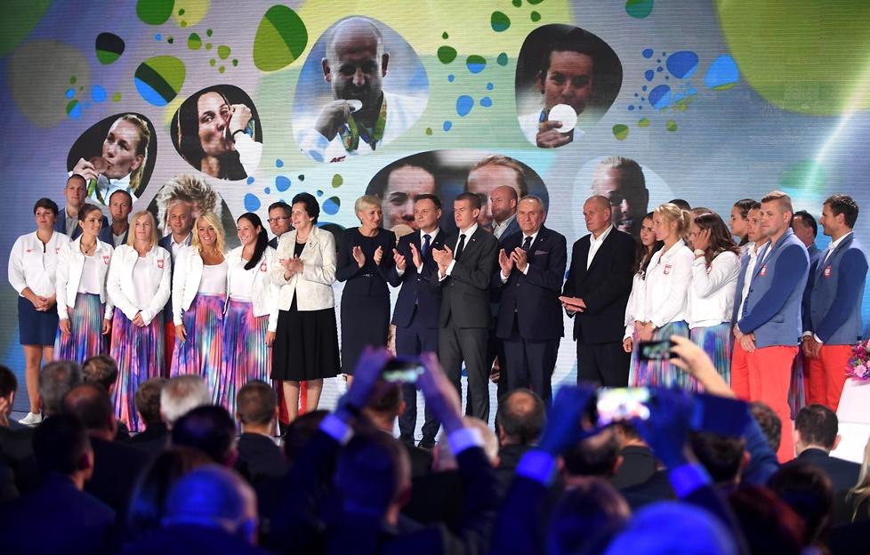 Para prezydencka, minister sportu, medaliści igrzysk. Zobacz zdjęcia z Gali Olimpijskiej