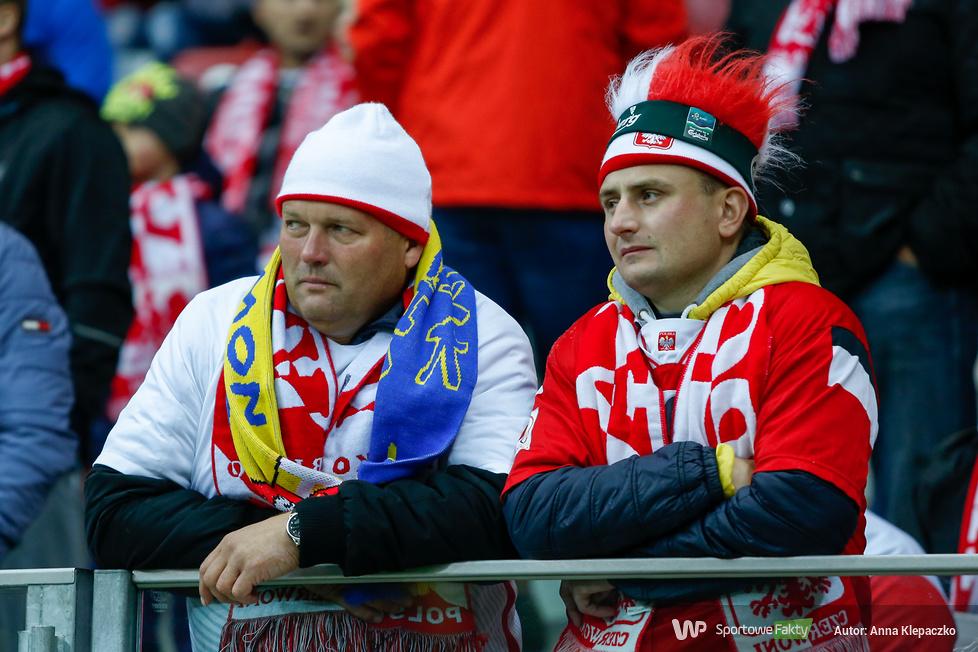 Kibice na meczu Polska - Dania (galeria)