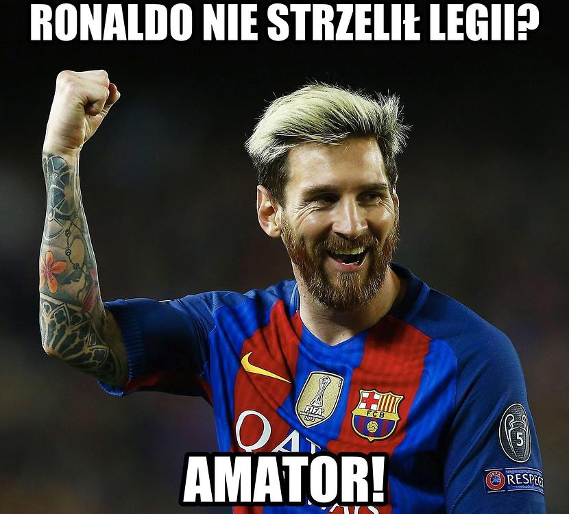 Barca rozbiła Man City, internauci śmieją się z Guardioli i... Ronaldo. Zobacz memy