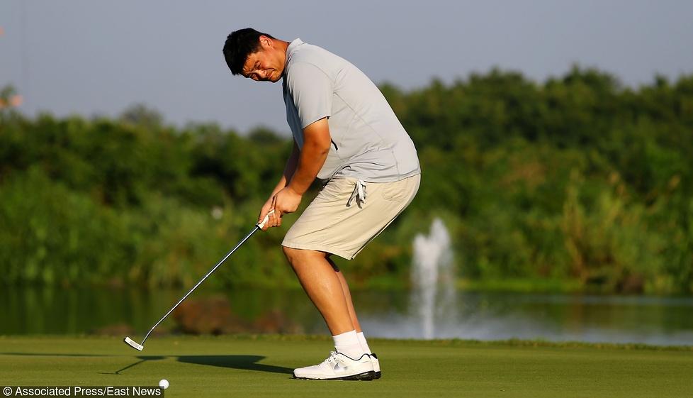 Yao Ming, Becker, Iverson. Gwiazdy sportu i celebryci na turnieju golfa w Chinach