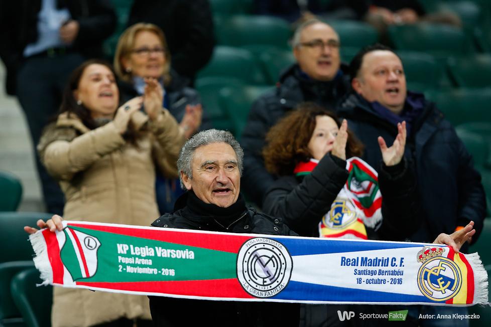 Liga Mistrzów: Legia Warszawa - Real Madryt 3:3, część II (galeria)