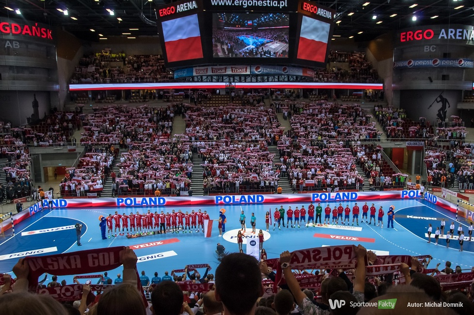 Kibice na meczu Polska - Serbia 32:37 (galeria)