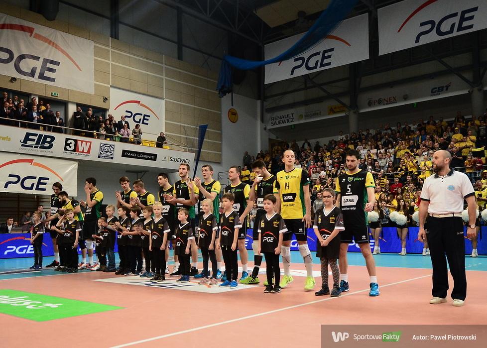 Plusliga: PGE Skra Bełchatów - GKS Katowice 3:0 (galeria)