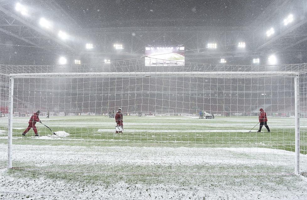 Zima opanowała stadion w Moskwie. Takie obrazki wkrótce również w Polsce