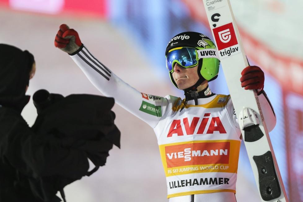 PŚ w Lillehammer: nokaut Domena Prevca, świetni Polacy! (galeria)