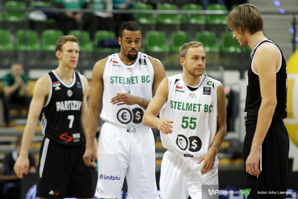 Stelmet Zielona Góra - Partizan Belgrad 80:81 (galeria)