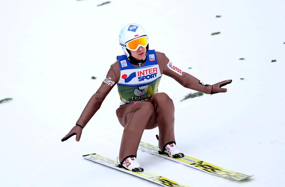 65. TCS w Innsbrucku: Tande wygrał loteryjne zawody i został liderem (galeria)