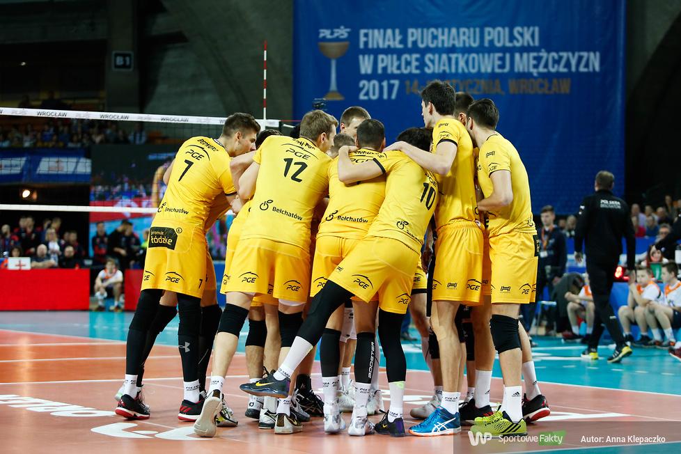 Finał Pucharu Polski 2017: ZAKSA Kędzierzyn-Koźle - PGE Skra Bełchatów 3:1 (galeria)
