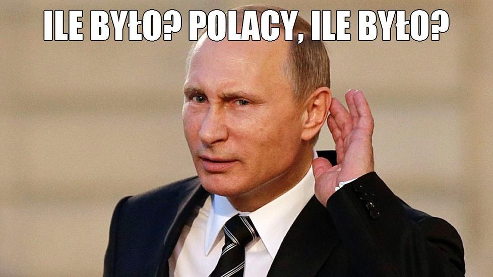 Putin śmieje się z Polaków. Zobacz memy po porażce naszych szczypiornistów z Rosją
