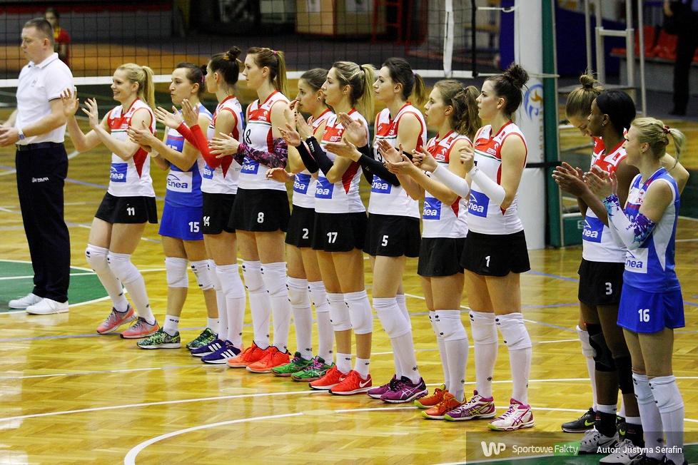 1/8 finału Pucharu Polski Kobiet 2017: Wisła Warszawa - Enea PTPS Piła 3:2 (galeria)