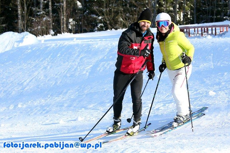 Trening narciarski kadry w Harrachovie (galeria)
