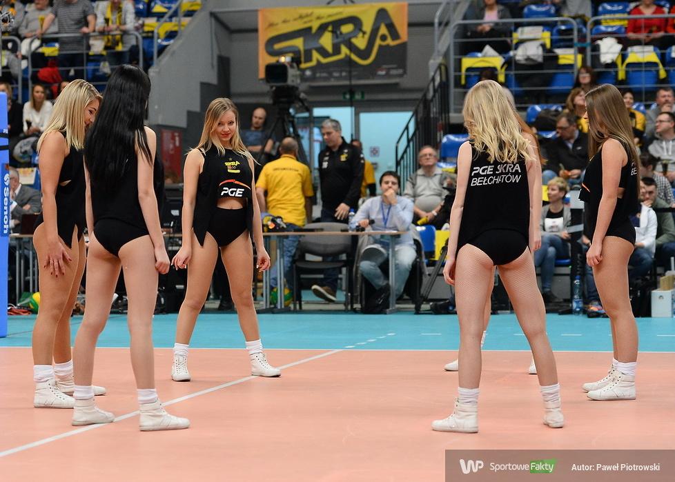 Cheerleaders Bełchatów nie zabrakło w Lidze Mistrzów (galeria)