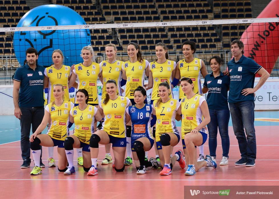 Puchar Cev: Grot Budowlani Łódź - RC Cannes 3:0