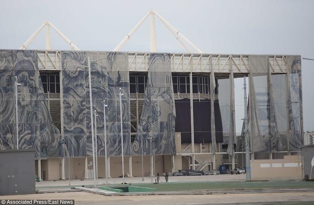 Olympic Aquatic Center straszy zamiast cieszyć / fot. Silvia Izquierdo