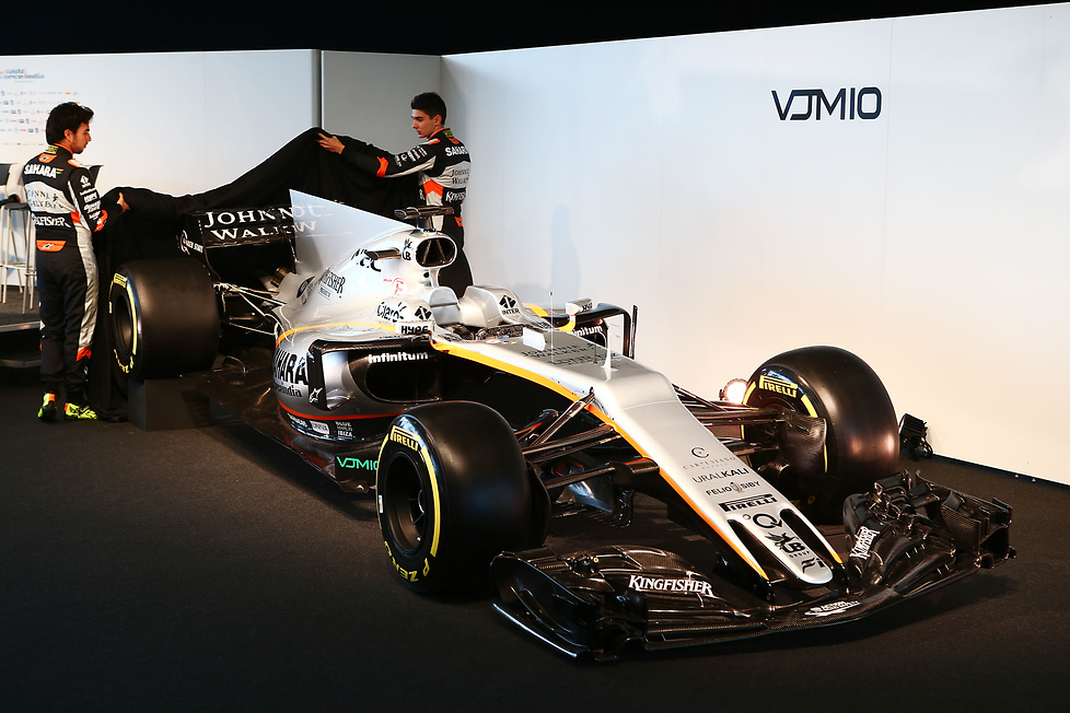 Force India odsłoniło model VJM10 (galeria)