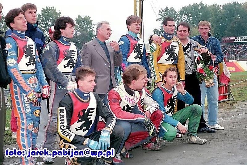 Retro speedway: Polonia Bydgoszcz fetuje mistrzostwo Polski (galeria)
