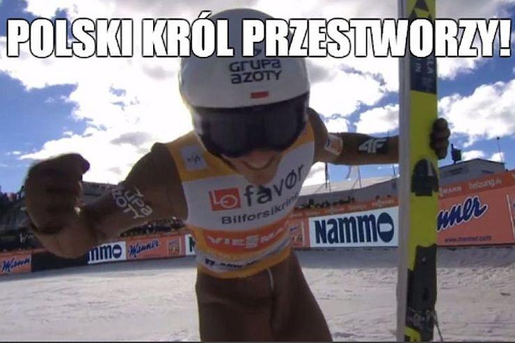 Cóż to był za konkurs! Memy po rekordach Polski Żyły i rekordach świata