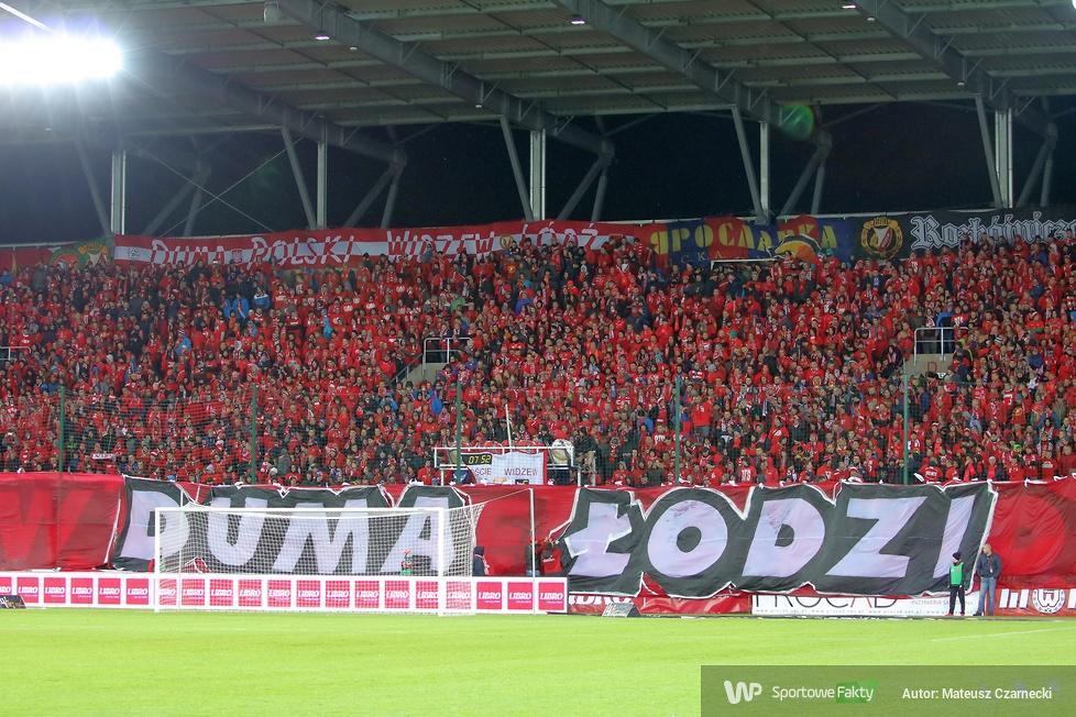 Oprawa kibiców Widzewa Łódź na otwarcie nowego stadionu (galeria)