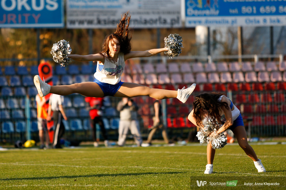 Warsaw Elite Cheerleaders na meczu PLFA (galeria)