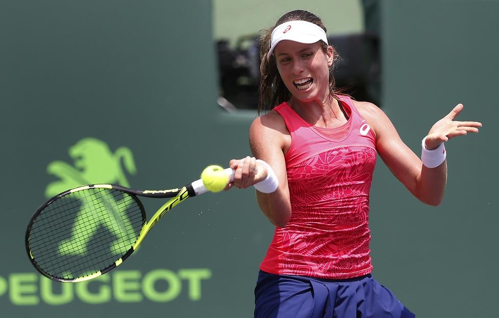 Johanna Konta mistrzynią Miami Open (galeria)