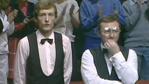 Steven Davis i Dennis Taylor/BBC2