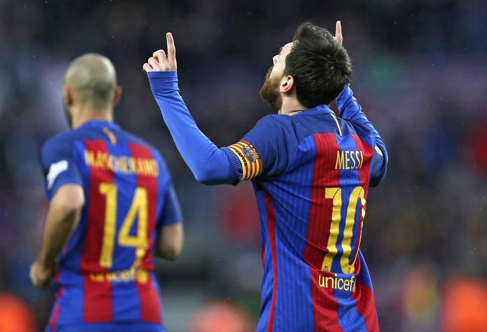 Camp Nou oddało hołd Leo Messiemu (galeria)