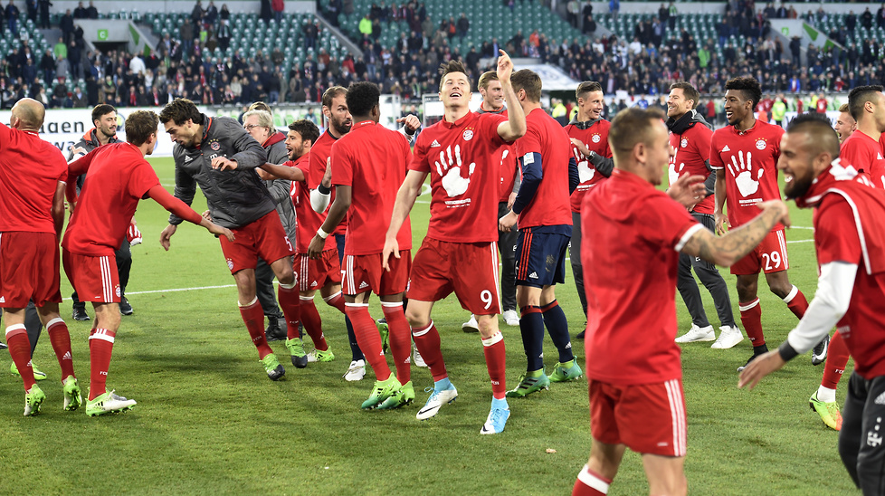 Po meczu z VfL Wolfsburg w ekipie Bayernu zapanowała ogromna radość....