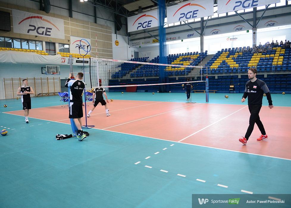 Kadra juniorów trenuje w Bełchatowie (galeria)