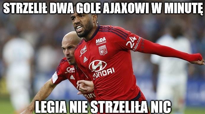 Zobacz memy po półfinałach Ligi Europy. W tle Rybus, Legia, a nawet Lewandowski