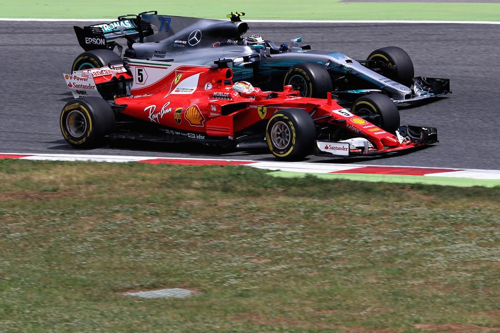 GP Hiszpanii: tym razem Hamilton (galeria)