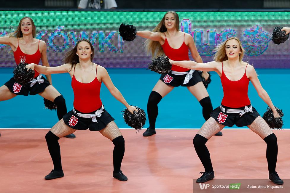 Bell Arto Cheerleaders zachwyciły w czwartek na Torwarze (galeria)