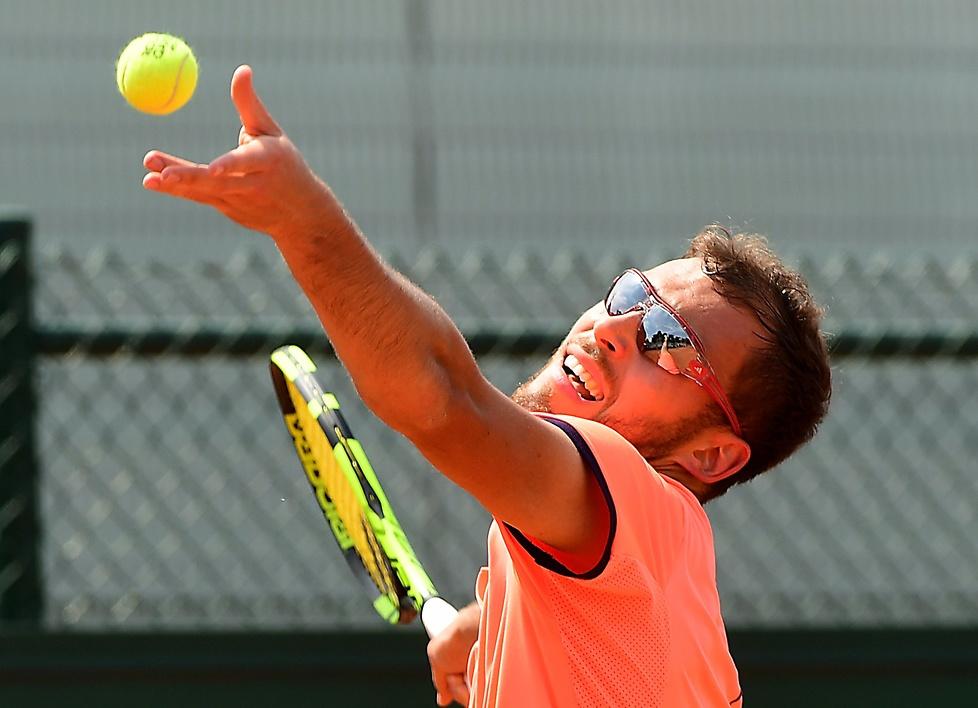 Jerzy Janowicz odpadł w I rundzie Rolanda Garrosa 2017 (galeria)