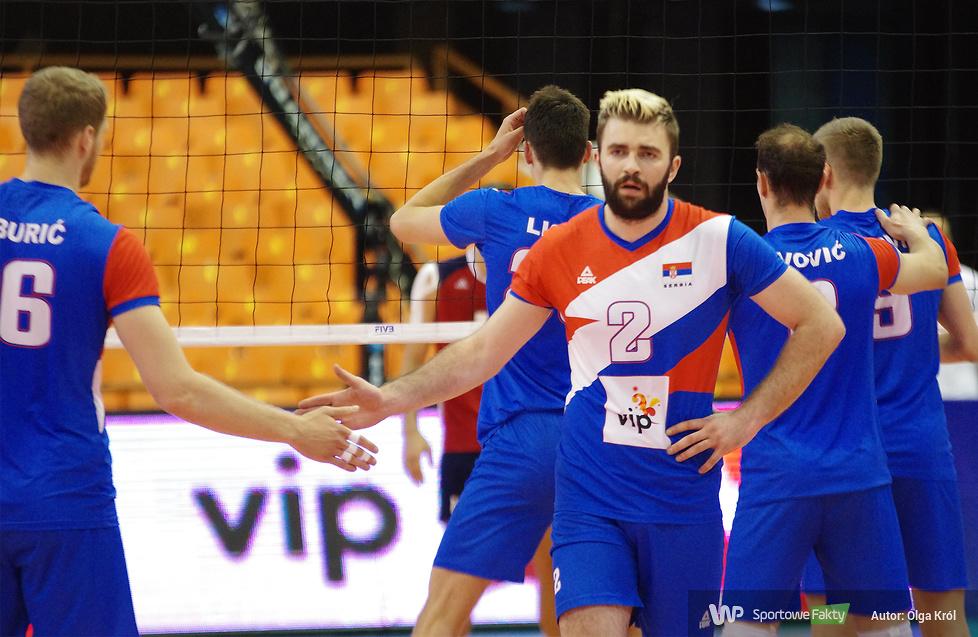 Liga Światowa, gr. B: Serbia - Stany Zjednoczone 3:1 (galeria)