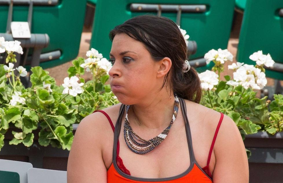 Marion Bartoli w środę pojawiła się na kortach Rolanda Garrosa, ab...