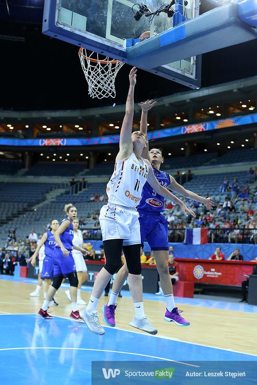 Eurobasket Women 2017: Belgia - Włochy 79:66 (galeria)