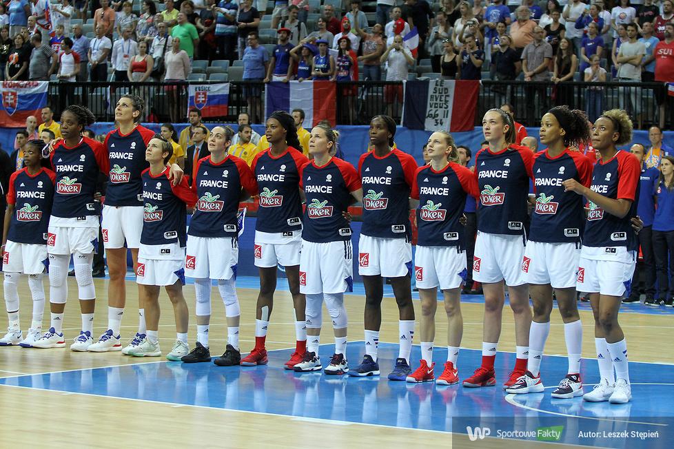 Eurobasket Women 2017: Francja - Słowacja 67:40 (galeria)