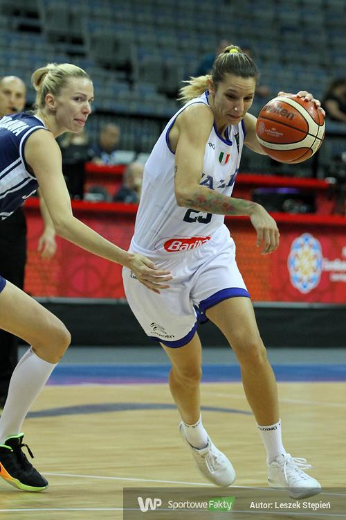 Eurobasket Women 2017: Włochy-Słowacja 71:54 (galeria)