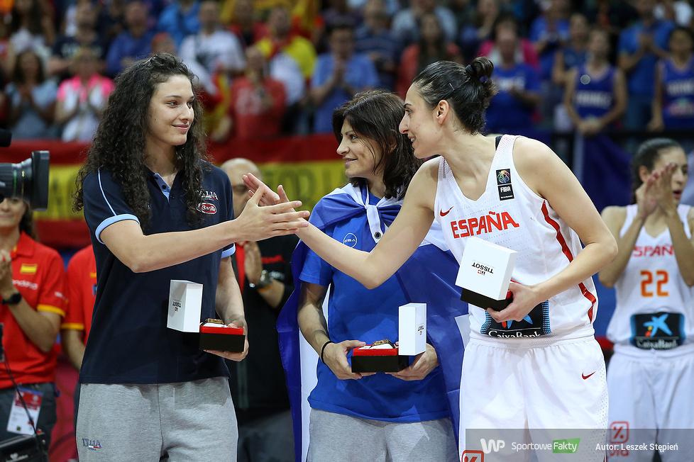 Eurobasket Women 2017: ceremonia medalowa (galeria)