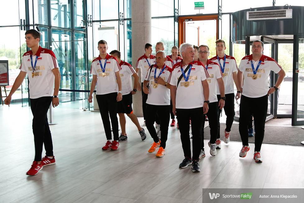 Mistrzowie świata juniorów zostali uhonorowani przez Ministra Sportu i Turystyki (galeria)