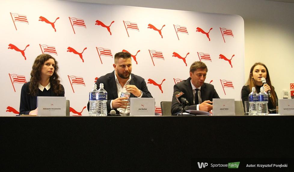 Cracovia zagra w nowych strojach (galeria)