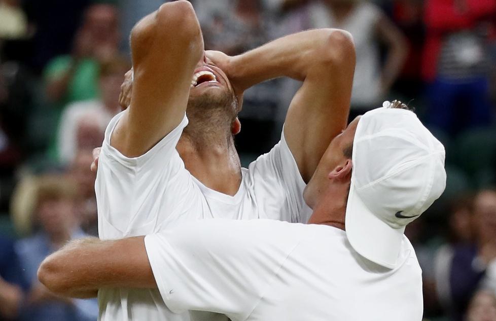 Co za radość! Łukasz Kubot i Marcelo Melo wygrali Wimbledon (galeria)