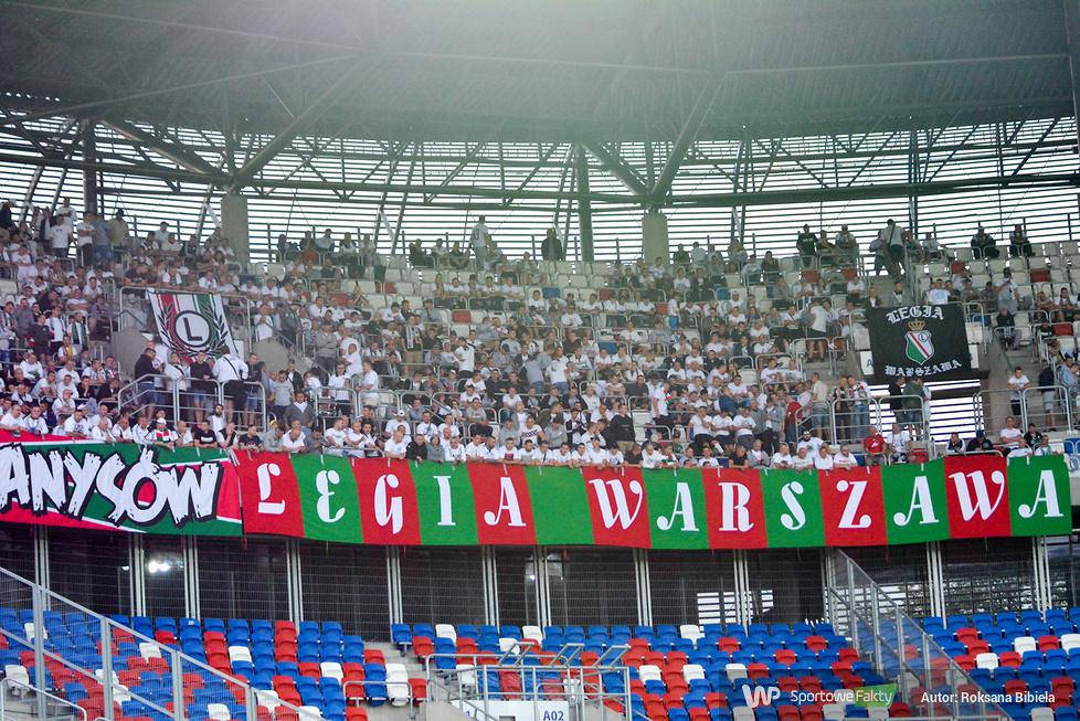 Świetna atmosfera na meczu Górnik Zabrze - Legia Warszawa (galeria)