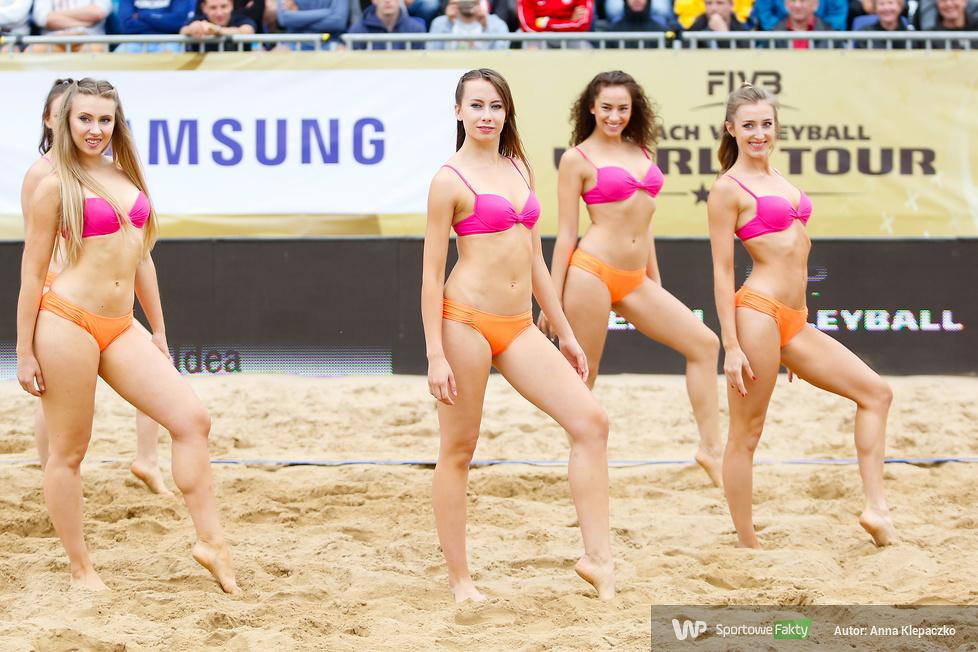 Efektowne występy Bell Arto Cheerleaders na turnieju Olsztyn World Tour 2017 (galeria)